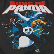 Kung Fu Panda Kung Fu Group Shirts