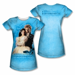 Labyrinth A Dream Sublimation Juniors Shirt Front/Back Print