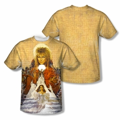 Labyrinth Cover Art Sublimation Shirt Front/Back Print