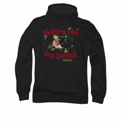 Labyrinth Hoodie Sweatshirt Goblins Took My Brother Black Adult Hoody Sweat Shirt