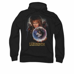 Labyrinth Hoodie Sweatshirt I Have A Gift Black Adult Hoody Sweat Shirt