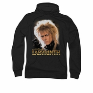 Labyrinth Hoodie Sweatshirt Jareth Black Adult Hoody Sweat Shirt