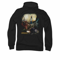 Labyrinth Hoodie Sweatshirt Sarah & Ludo Black Adult Hoody Sweat Shirt