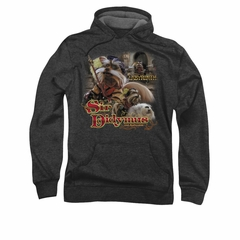 Labyrinth Hoodie Sweatshirt Sir Didymus Charcoal Adult Hoody Sweat Shirt