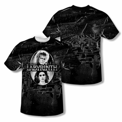 Labyrinth Maze Sublimation Kids Shirt Front/Back Print