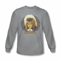 Labyrinth Shirt 25 Years Long Sleeve Silver Tee T-Shirt