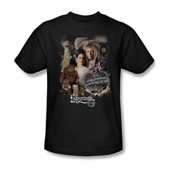 Labyrinth Shirt 25 Years Of Magic Adult Black Tee T-Shirt
