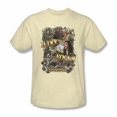 Labyrinth Shirt Call The Rocks Adult Cream Tee T-Shirt