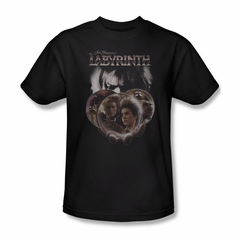 Labyrinth Shirt Globes Adult Black Tee T-Shirt