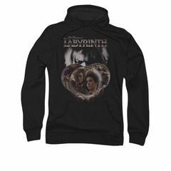 Labyrinth Shirt Globes Long Sleeve Black Tee T-Shirt