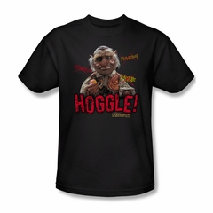 Labyrinth Shirt Hoggle Adult Black Tee T-Shirt