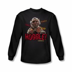 Labyrinth Shirt Hoggle Long Sleeve Black Tee T-Shirt