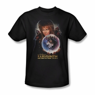 Labyrinth Shirt I Have A Gift Adult Black Tee T-Shirt
