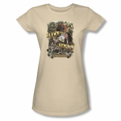 Labyrinth Shirt Juniors Call The Rocks Cream Tee T-Shirt