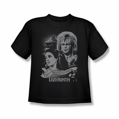 Labyrinth Shirt Kids Anniversary Black Youth Tee T-Shirt