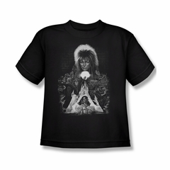 Labyrinth Shirt Kids Castle Black Youth Tee T-Shirt