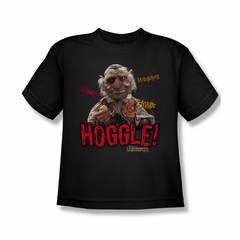 Labyrinth Shirt Kids Hoggle Black Youth Tee T-Shirt