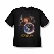 Labyrinth Shirt Kids I Have A Gift Black Youth Tee T-Shirt