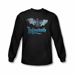 Labyrinth Shirt Title Sequence Long Sleeve Black Tee T-Shirt