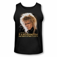 Labyrinth Tank Top Jareth Black Tanktop