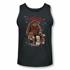 Labyrinth Tank Top Should You Need Us Charcoal Tanktop