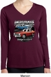 Ladies American Made Dodge Dart Dry Wicking Long Sleeve Shirt