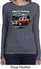 Ladies American Made Dodge Dart Long Sleeve Shirt