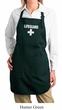 Ladies Apron Distressed Lifeguard Full Length Apron with Pockets