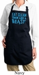 Ladies Apron Eat Clean Full Length Apron with Pockets