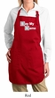 Ladies Apron Say My Name Full Length Apron with Pockets