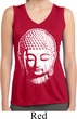 Ladies Big Buddha Head Sleeveless Moisture Wicking Tee