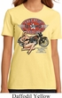Ladies Biker Shirt Full Service Gas Organic Tee T-Shirt