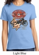 Ladies Biker Shirt Full Service Gas Tee T-Shirt