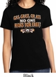Ladies Biker Shirt Gas Grass Or Ass Tee T-Shirt