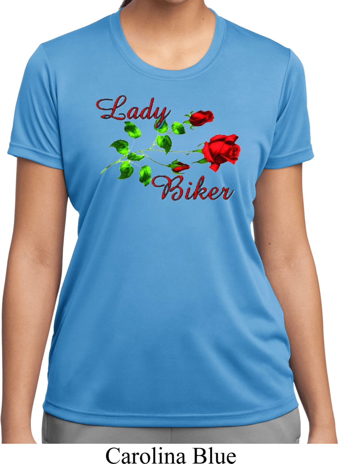 Ladies biker shirt lady biker moisture wicking tee t shirt for Sweat wicking t shirts