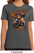 Ladies Biker Shirt Motorhead Garage Organic Tee T-Shirt