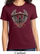 Ladies Biker Shirt Prayer Warrior Tee T-Shirt