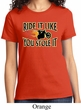 Ladies Biker Shirt Ride It Like You Stole It Tee T-Shirt