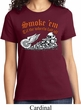 Ladies Biker Shirt Smoke Em Tee T-Shirt