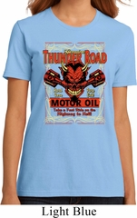 Ladies Biker Shirt Thunder Road Organic Tee T-Shirt