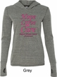 Ladies Breast Cancer Hope Love Cure Tri Blend Hoodie