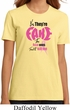 Ladies Breast Cancer Shirt Yes, They're Fake Organic Tee T-Shirt