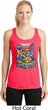 Ladies Cat Tank Top Love Cat Dry Wicking Racerback