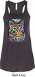 Ladies Cat Tank Top Love Cat Flowy Racerback
