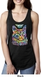 Ladies Cat Tank Top Love Cat Ideal Racerback