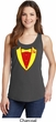 Ladies CCCP Basic Tuxedo Tank Top
