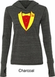 Ladies CCCP Basic Tuxedo Tri Blend Hoodie