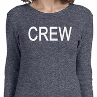 Ladies Crew Long Sleeve Shirt