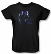 Ladies CSI: Crime Scene Investigation T-shirt - At The Scene Black Tee