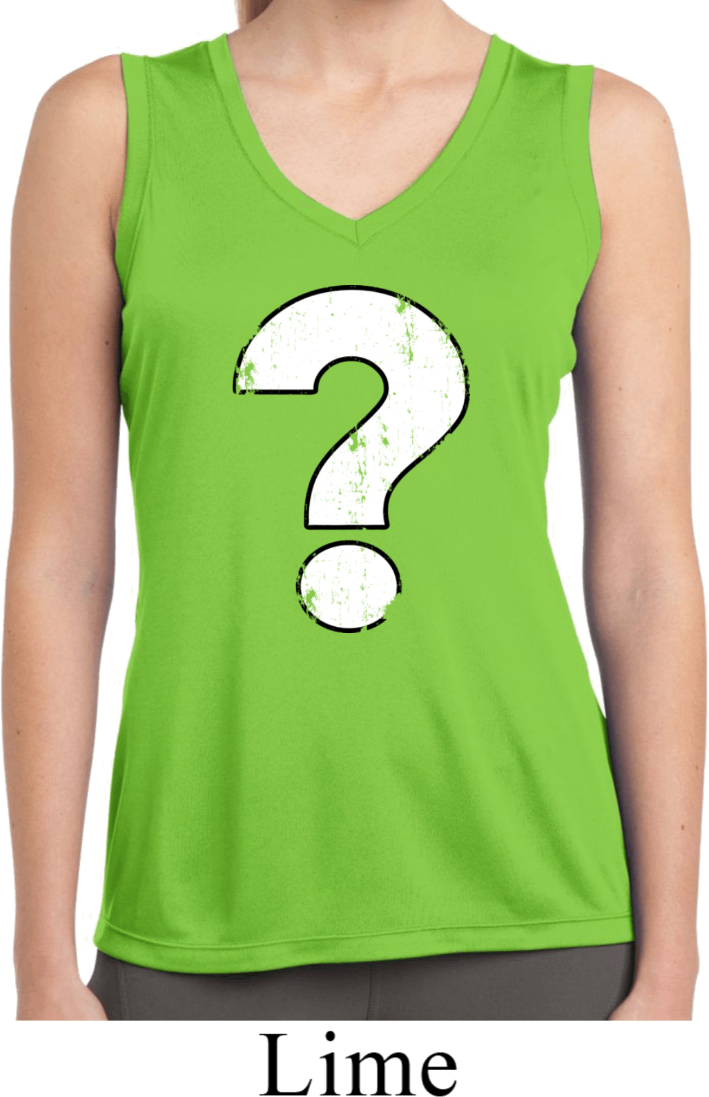 Ladies distressed question sleeveless moisture wicking for How to make a distressed shirt